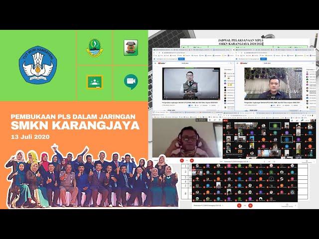 Webinar Pembukaan MPLS Jawa Barat oleh Kepala Dinas Pendidikan Provinsi Jawa Barat