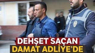 Gaziantep'te 3 Kişiyi Öldüren Zanlı Adliyede!