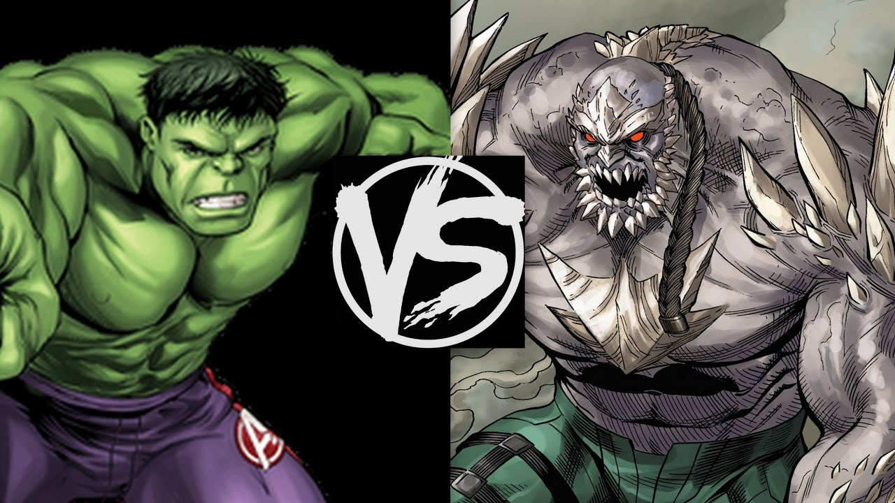 The Hulk VS Doomsday...Who'd Win The Fight? An Incredible ... Doomsday Vs Hulk Who Wins