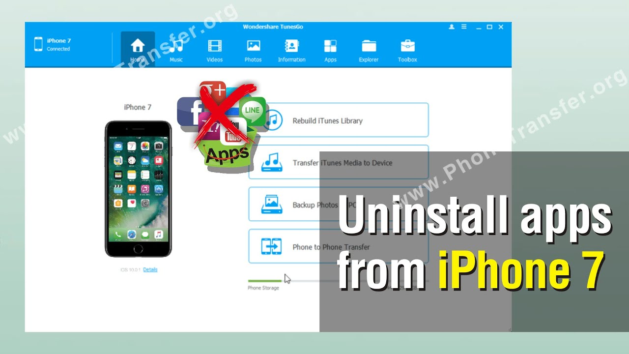 how to uninstall an app on iphone how to uninstall apps from iphone 7 delete iphone apps in 5289