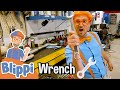 Blippi Visits a Mechanic - Learning Tools & Vehicles For Kids | Educational Videos