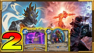 Hearthstone: Quest Dragons Control Priest Part 2  | This Deck It's Amazing | Saviors of Uldum | Wild