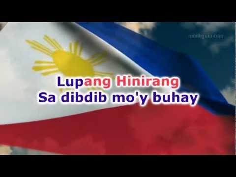 Lupang Hinirang - karaoke