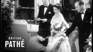 Italy's Film Stars Meet The Queen (1954)