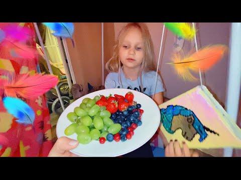 Алиса СДЕЛАЛА РЕБОРНА котёнка своими руками ! Мими Лисса показывает свои дом! Playhouse for kids