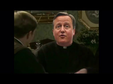 David Cameron on Father Ted - That money was just resting in my account (Panama Papers)