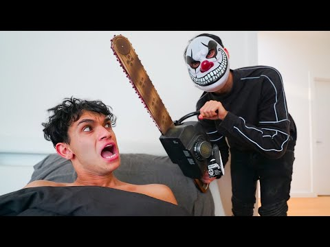 SCARY PRANKS on TWIN BROTHER!