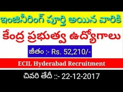 Engineer Jobs in Hyderabad Electronics Corporation of India Limited ECIL