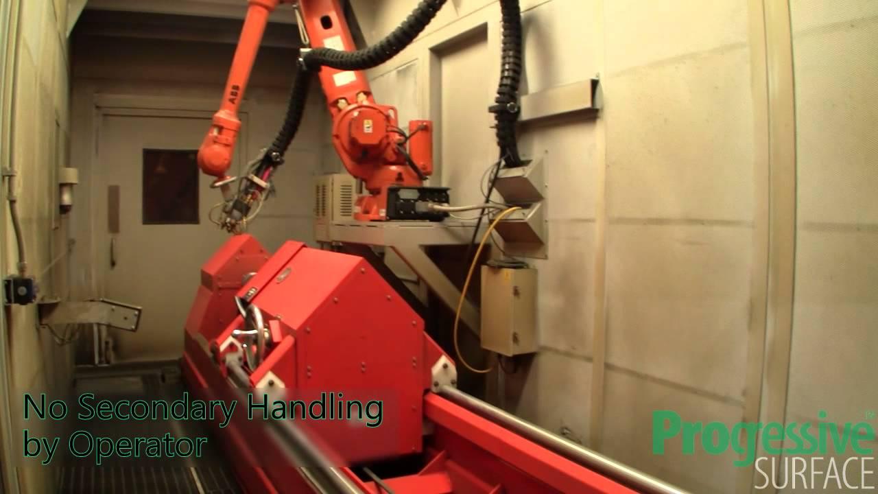 Hydraulic Cylinder Rod Coating System