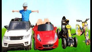 Магазин МАШИНОК Доминика продает новые машинки игрушки а Ричард покупает