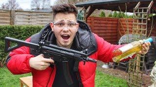 Beste MP5 Softair   Extremes Test Schießen und Review