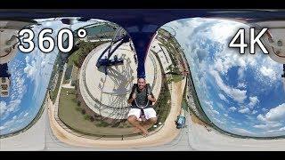 Alabama Wham'a 360° on-ride 4K POV The Park at OWA