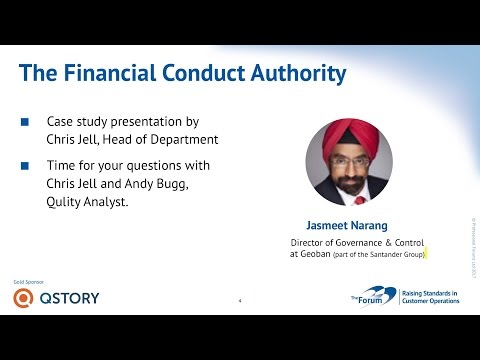 Financial Conduct Authority - Case Study