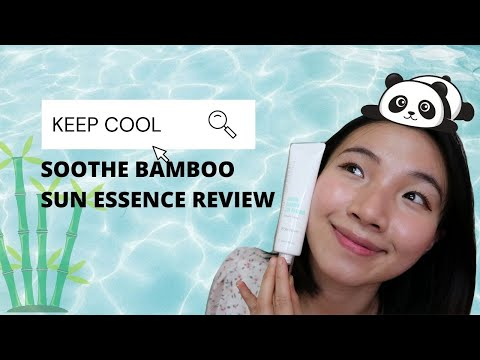 [ENG] Keep Cool Soothe Bamboo Sun Essence Review   comparison with Dear Klairs, Soft Airy UV Essence