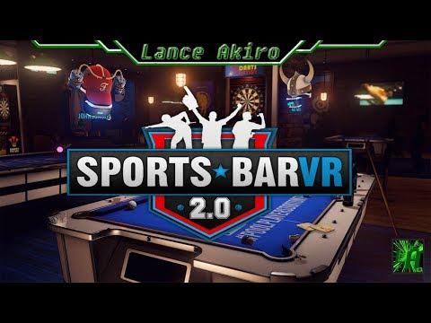 [PSVR](Pro) The Update is Here!!!!! | Sports Bar VR 2.0