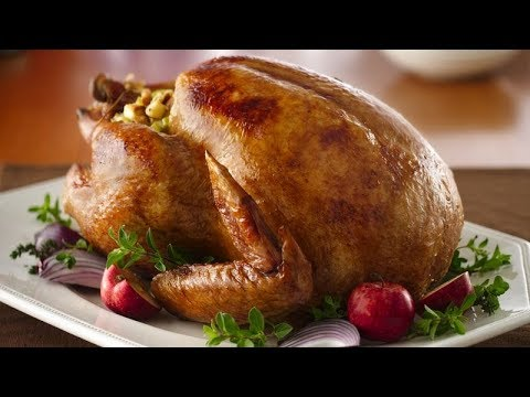 Roast a Turkey Video || How To Cook a Thanksgiving Turkey Using Simple Methods