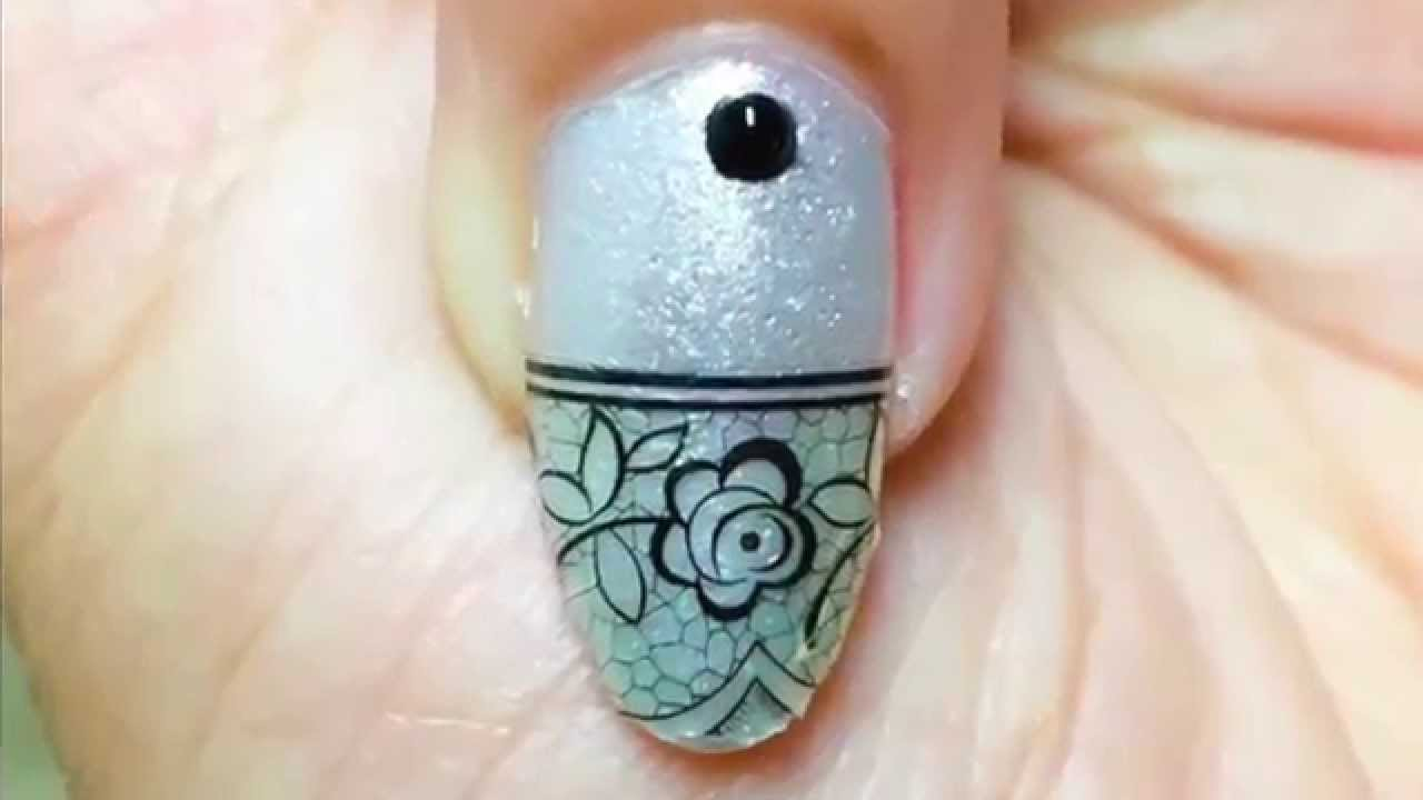 Easy Do Yourself Nail Designs Nail Art With Stickers