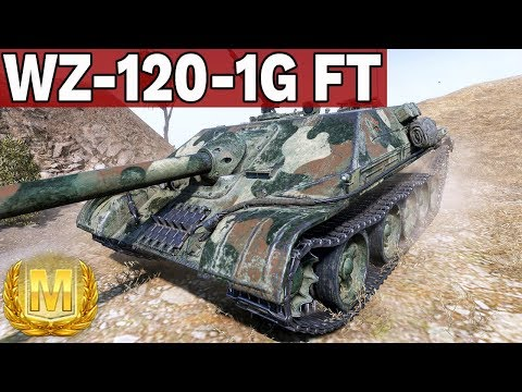 UPRAGNIONY AS PANCERNY - WZ-120-1G FT - World of Tanks thumbnail
