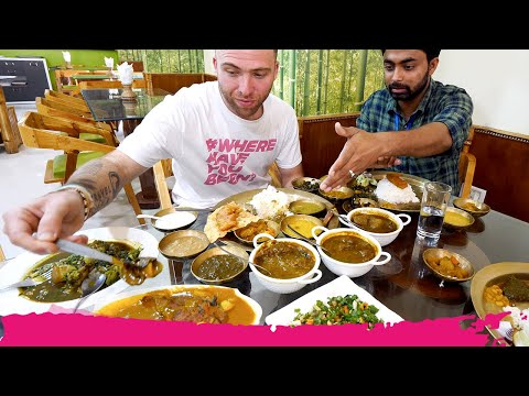GIANT Assamese THALI 20 ITEMS! + Tezpur Attractions | Tezpur