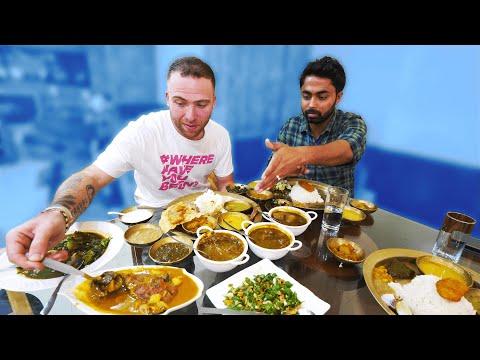 GIANT Assamese THALI 20 ITEMS! + Tezpur Attractions   Tezpur, Assam, India