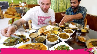 GIANT Assamese THALI 20 ITEMS! + Tezpur Attractions | Tezpur, Assam, India