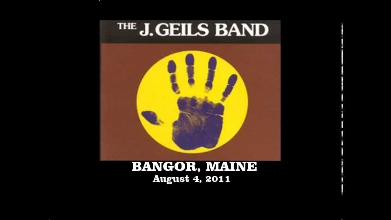 J geils band live pack sanctuary night time audio bangor for What time is it in maine right now