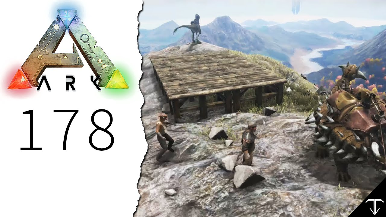 ark 178 ein haus in den bergen let 39 s play ark survival evolved youtube. Black Bedroom Furniture Sets. Home Design Ideas