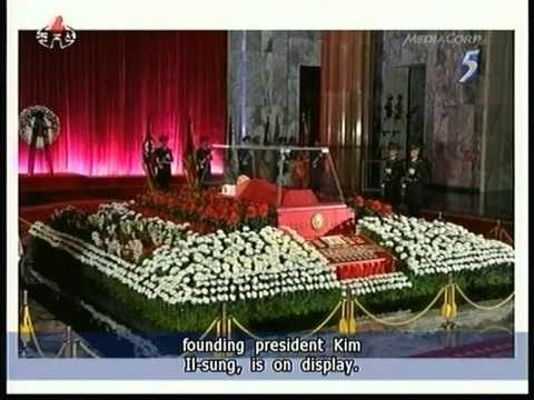 Late Kim Jong-Il's body lying in state - 20Dec2011