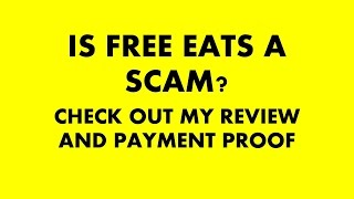FreeEats Review|FreeEats Scam|Is FreeEats Legit Or Not? Can I Make Money With Text Messages?