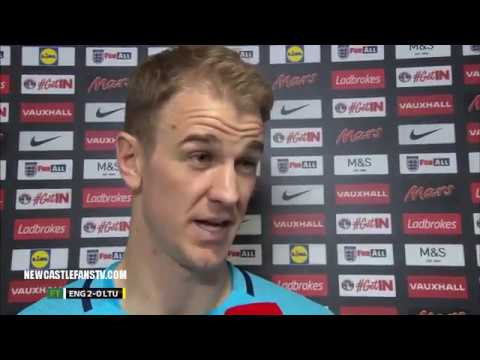 ENGLAND 2-0 LITHUANIA   REACTION FROM JOE HART & GARETH SOUTHGATE