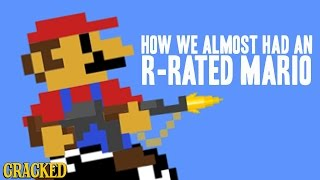 How We Almost Had An R-Rated Mario