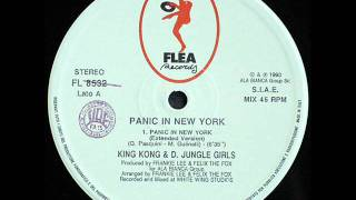 King Kong & D. Jungle Girls - Panic In New York (Extended Version)