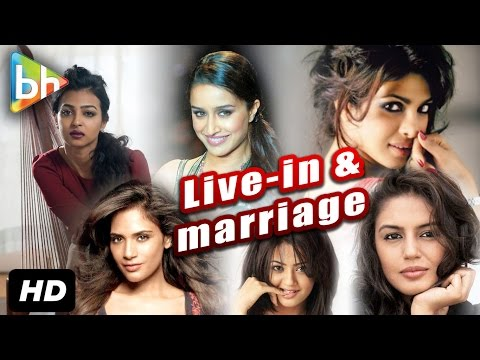 Bollywood Celebrities Reaction On Live In Relationships Getting A Legal Status