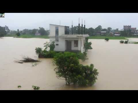 चितवनमा खतरनाक बाढी Dangerous Flood In Chitwan Footage Leaked 