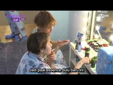Wanna One Go Zero Base (indo sub) - Ep 1 FUNNY MOMENT😂😂