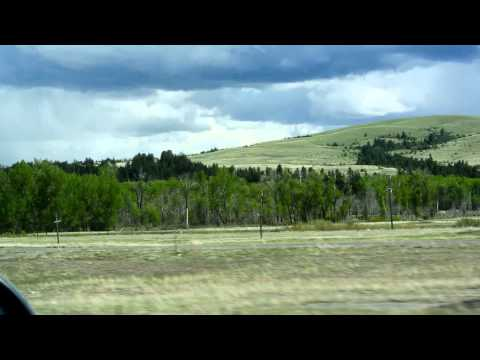 Drummond Montana & Wallace Ranch Video Pintler Loop / Discovery Ski Road Trip