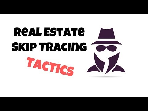 Real Estate Skip Tracing - How To Find Vacant Property Owners