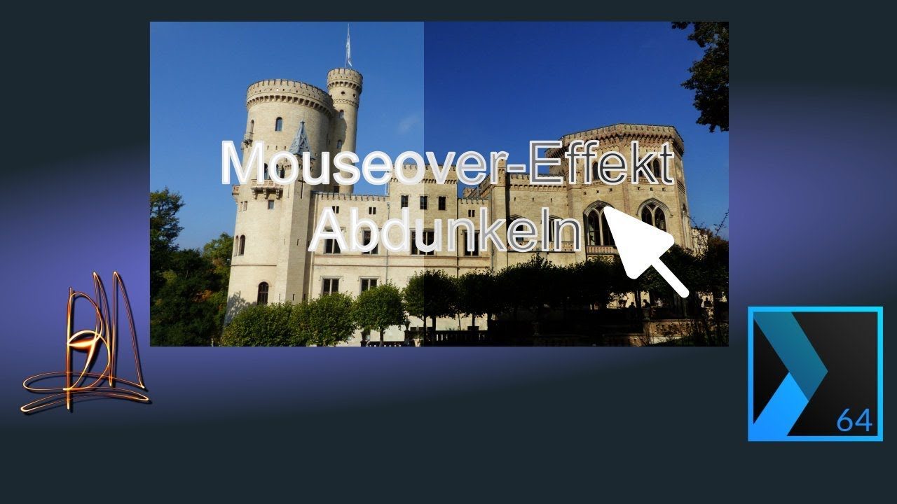 MAGIX Web Designer Premium (12)   MouseOver-Effekt: Foto abdunkeln ...