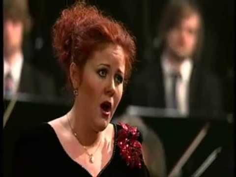 Maria lyudko with symphony orchestra casta diva youtube - Casta diva youtube ...