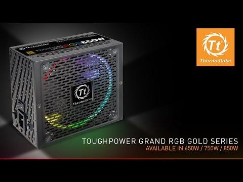 Thermaltake Toughpower Grand RGB 80 PLUS® Gold Fully Modular Power Supply - Unboxing and Walkthrough