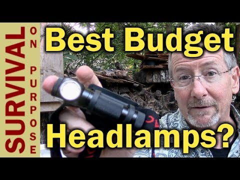 Brightest Waterproof Rechargeable Headlamp Under $30