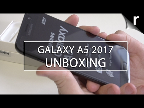 Samsung Galaxy A5 2017 Unboxing and Hands-on Review