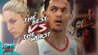 The BEST WNBA team vs NBA's Worst in NBA 2K20   Women vs Men   Elena Delle Donne vs Trae Young!