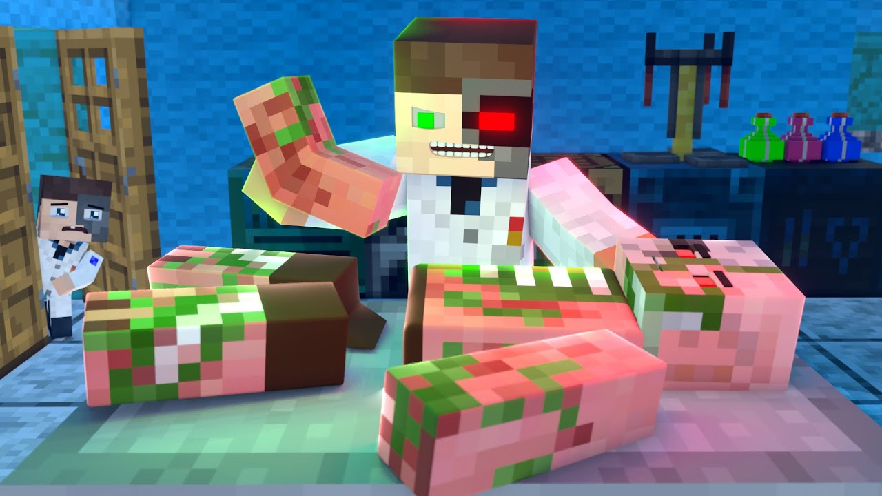 The minecraft life of Steve and Alex   Trophy   Minecraft animation