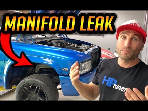 HOW TO FIX LEAKING EXHAUST MANIFOLDS – DODGE 5.2L 5.9L MAGNUM