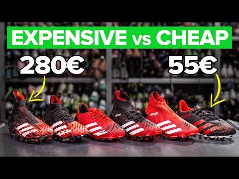 CHEAP vs EXPENSIVE | All adidas Predator Mutator 20 football boots explained