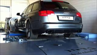 Audi RS6 V10 FSI Soundfile Prüfstand