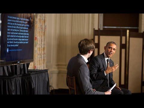 President Obama's Tumblr Q&A at the White House