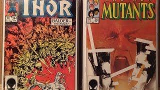 Comic Book Haul #15 - What's On My Desk (ASM McFarlane, Uncanny X-Men, Neal Adams)