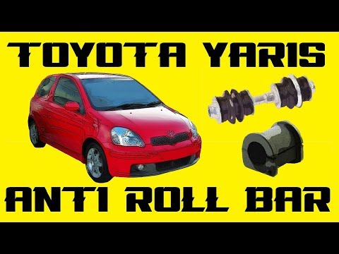 98-06 Toyota Yaris Anti-Roll Bar Bush Replacement. Replace sway bar bushes without dropping subframe